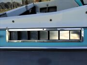 Marine Boat Vent Bilge Blower Exhaust Louvered Stainless Steel Set 16 7/8x3