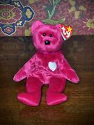 Rare Ty Retired Beanie Baby Valentina 1998 With Tag Errors