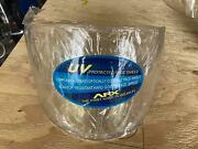 Lot Of 6 New Motorcycle Helmet Face Shields      Free Shipping