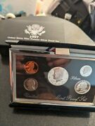 1997 Us Mint Premier Silver Proof Set With Box And Coa