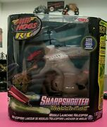 Air Hogs R/c Sharpshooter Tracer Fire Missile Launching Rc Helicopter New Nib