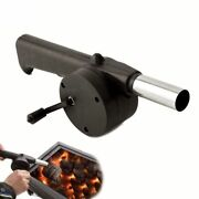 Outdoor Barbecue Fan Hand-cranked Air Blower Portable Fire Bellows Accessories