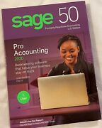 Sage 50 Pro Accounting 2020 Software Usa Windows 7/8.1/10 Sealed Retail Package