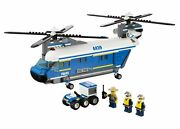 Lego City Heavy-lift Helicopter 4439 Instructions All Pieces No Box Retired