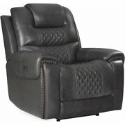 Coaster North Cushion Back Power2 Glider Recliner In Gray