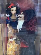 2015 Limited Edition Disney Fairytale Designer Snow White And Hag Witch Doll Set