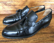 Mens Moreschi Dress Loafers Size 9 D Made In Italy