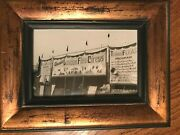 Vintage London Flea Circus Sideshow Banner And Tent Photo