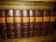 Easton Press 8 Volume Oxford Reference Library - Matched Beautiful Set Art