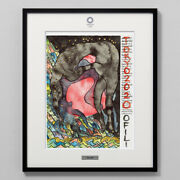 Tokyo 2020 Olympic Official Art Poster Chris Ofili Framed Reproduction F/s Japan