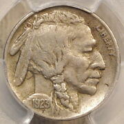1923-s Buffalo Nickel Extremely Fine Pcgs Xf-40 Original And With Complete Horn