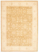 Vintage Hand-knotted Carpet 9and03911 X 13and0398 Traditional Oriental Wool Area Rug