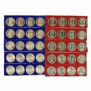2009 P D Presidential Dollar 5 Sets In Mint Cello Satin 40 Us Coin Lot