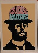 Peter Max - L/e Serigraph Toulouse Lautrec Hand-signed And Numbered