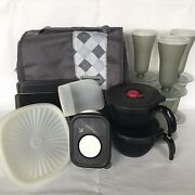 Tupperware Combo Lot Parfait Microwave Lunch Servalier Container And More 807