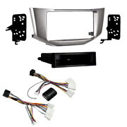 Double/single Din Carstereo Facia Kit And Steering Control With Jbl Amp Interface