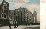 1911 San Francisco,ca Ruins Of The Palace And Grand Hotels After The Earthquake