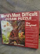 Vintage 1987 Devils Dilema The Worlds Most Difficult Jigsaw Puzzle Sealed