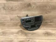 00_02 Jaguar S-type Gps Navigation Screen Stereo Player Climate Control Oem