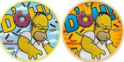 Tuvalu 2019 - Homer Simpson - Gilded And Clouds - Dandacuteoh - Set 2x1oz Silver Coins