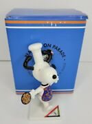 Snoopy Charlie Brown Westland Giftware Peanuts On Parade Baking Snoopy 8409