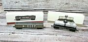 New Southern Pacific Railroad Coal Car And Tank Car N-scale Freight Train Cars