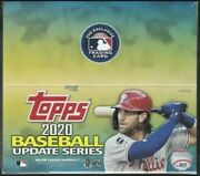 2020 Topps Update Mlb Baseball Retail Factory Sealed 24 Pack Box 16 Cards Pack
