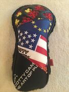 Scotty Cameron Rare American,eu,red Dragon,candian Leaf Flag Fwy Patchwork Cover