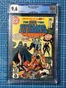 New Teen Titans 2 Cgc 9.6 1980 1st App. Deathstroke The Terminator White Pages