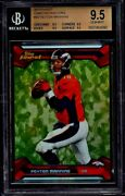 2013 Topps Finest Camo Refractor 5/10 Peyton Manning Bgs 9.5 Quad 9and0395s Gem Mint
