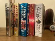 Game Of Thrones Books 1-5 George R R Martin 1st/1sts Each Signed