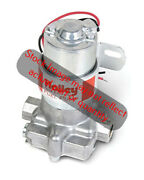 Holley Electric Fuel Pump 6145-2 Red Auto