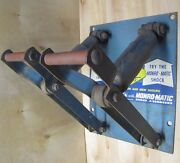 Monro-matic Shock Absorbers Old Repair Shop Auto Parts Store Display Ad Sign