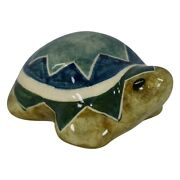 Shearwater Pottery 2016 Small Ceramic Green Turtle