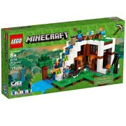 Brand New Lego Minecraft 21134 The Waterfall Base