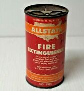 Vintage Fire Extinguisher Allstate Can No. 7975