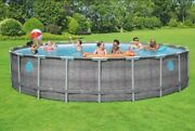 New Coleman 22and039x52 Swimming Pool Set W/ Pumpladderandcover Fast Shipping