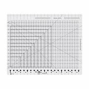 Creative Grids Stripology Xl Slotted Quilting Ruler, Template Designed By Gudrun