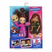 Failfix Take Over The Makeover Doll Loves Glam Surprise Fashion 2020 Toy New