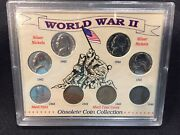 World War Ii Obsolete Coin Collection Ww2 1943 Steel Cent And 1942-46 Coins-3658