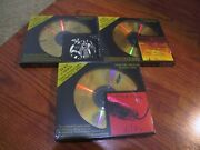 3 24k Gold Cd's Alice Cooper Love It To Death School's Out Killer Sealed