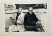 James Bond - Sean Connery Roger Moore - Photo Signed By Ledru