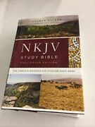 Nkjv Study Bible, Full-color Edition, Red Letter Edition New King James Version
