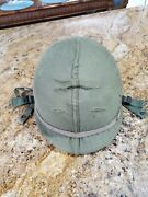 Us Army M1 Helmet And Liner W/ Vietnam Dated 1968 Excellent Condition