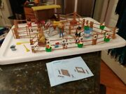 Playmobil Pony Horse Ranch Champion Arena Playset 3855 Instruction Near Complete