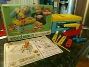 Play Doh Workbench Playdoh Hammer Saw Tools Construction Vintage In Box