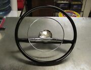 New 1957 Chevrolet Antique Car Small Steering Wheel 15 Size 1955 Thru 1960 Aval