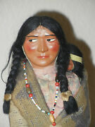 Collectible Vintage Skookum Bully Good Souvenir Indian Character Doll