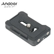 Andoer Pu-60l Quick Release Plate 60mm Qr Plate 1/4 Inches Mounting Screw I5t1