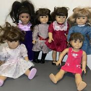 American Girl Dolls And Pleasant Company Lot Of 10 Some Retired Accessories+read